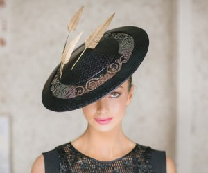 Millinery Collection by Milliner Lisa Bell photographed - The new spring racing millinery trends 2015