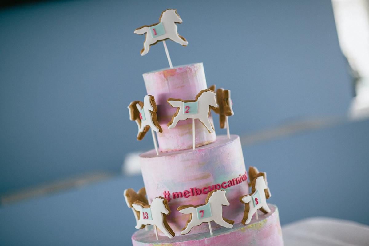 cake - horse - deco