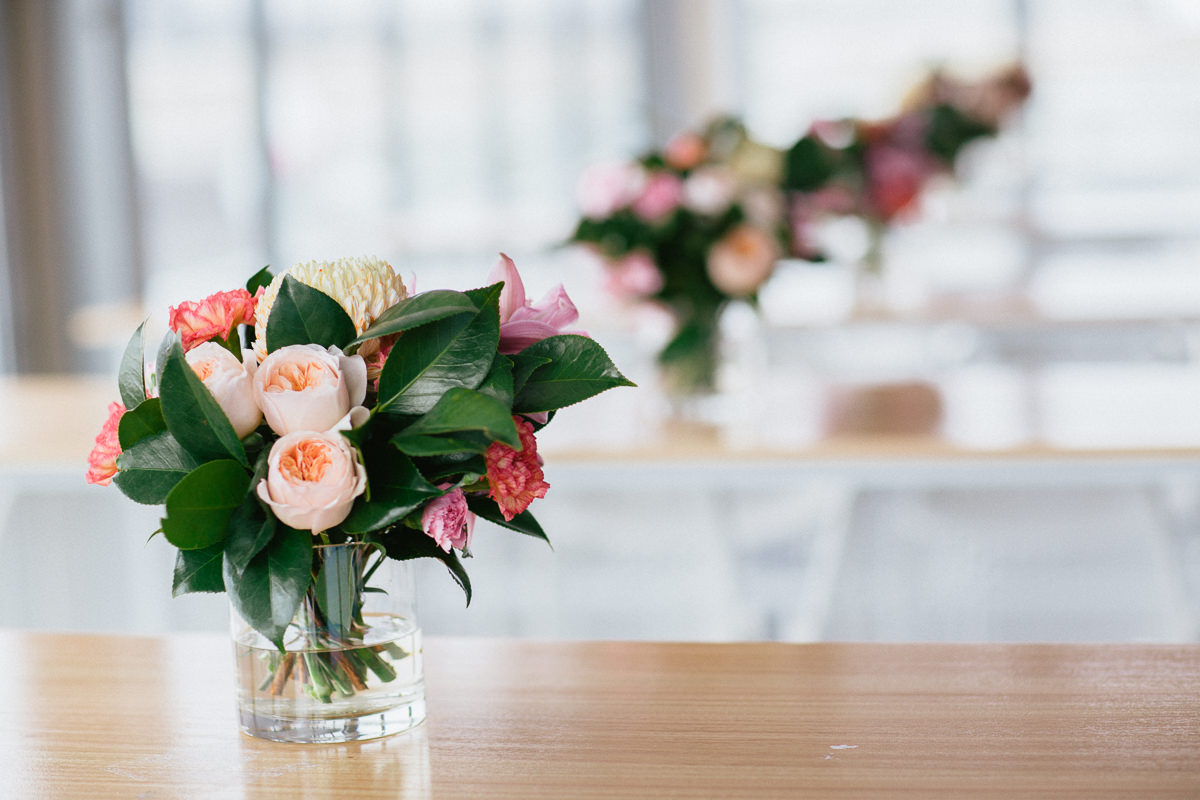 table decoration - melbourne cup event photography