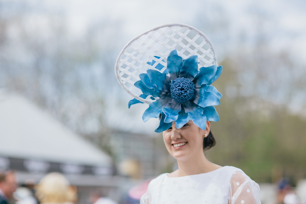 spring racing - horse races and fashion in caulfield
