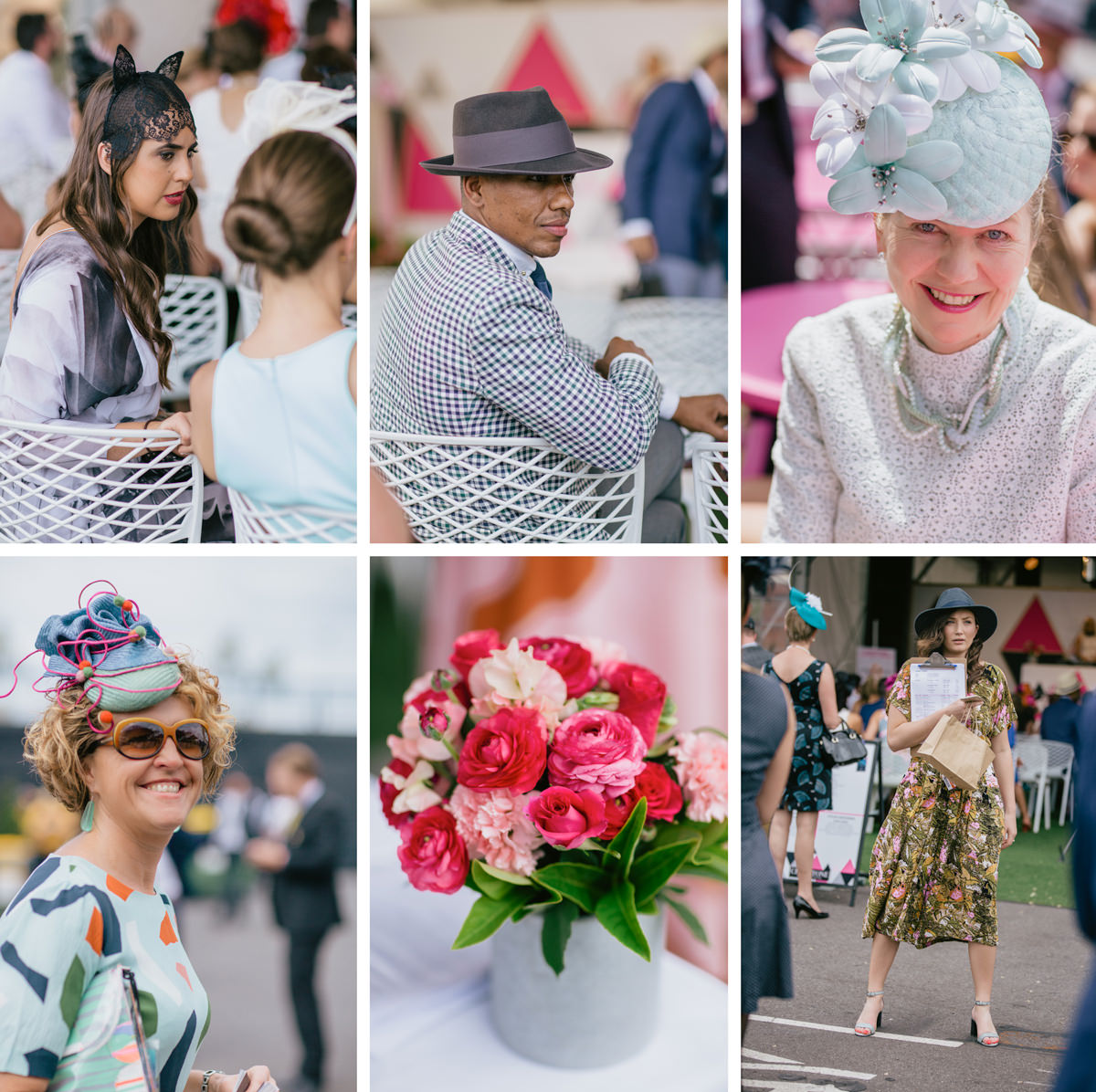 images and photographs of spring racing fashion