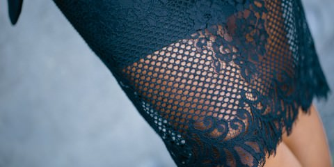 lace dress by witchery