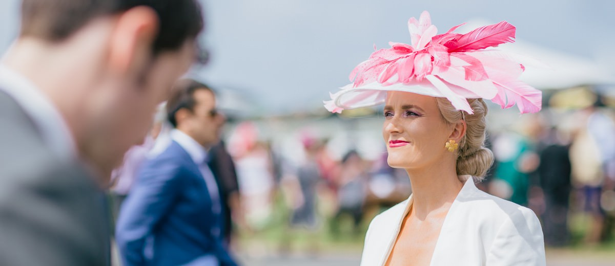 spring racing outfit