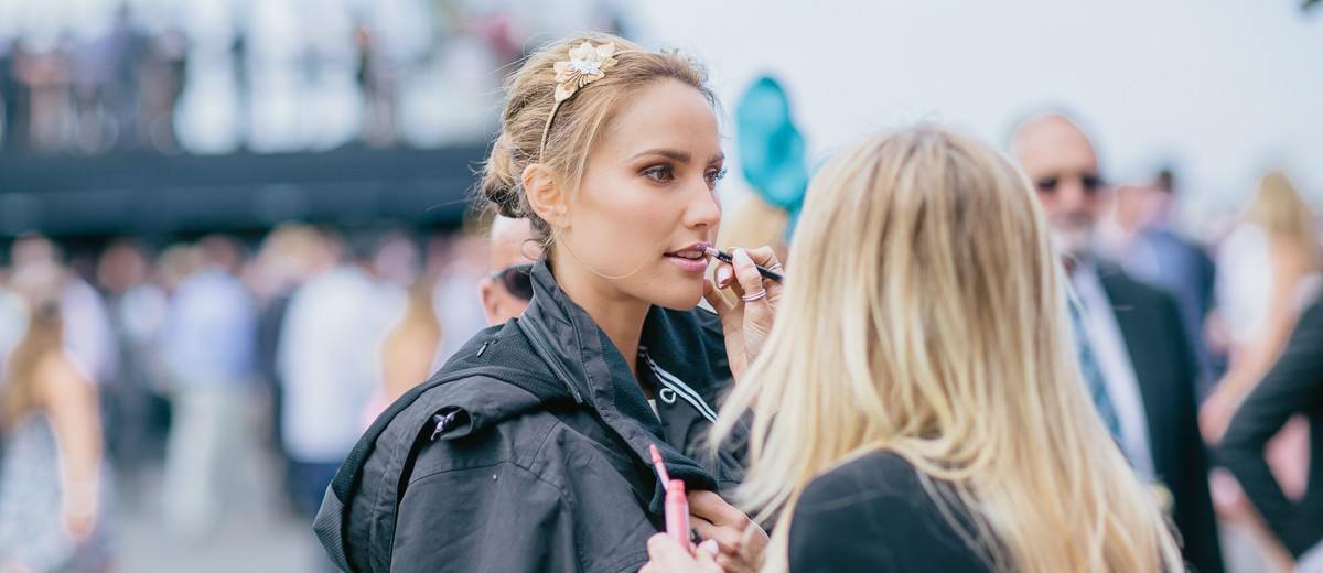 Make Up at the races