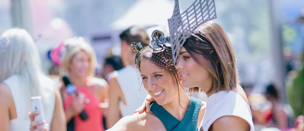 selfie time at the races