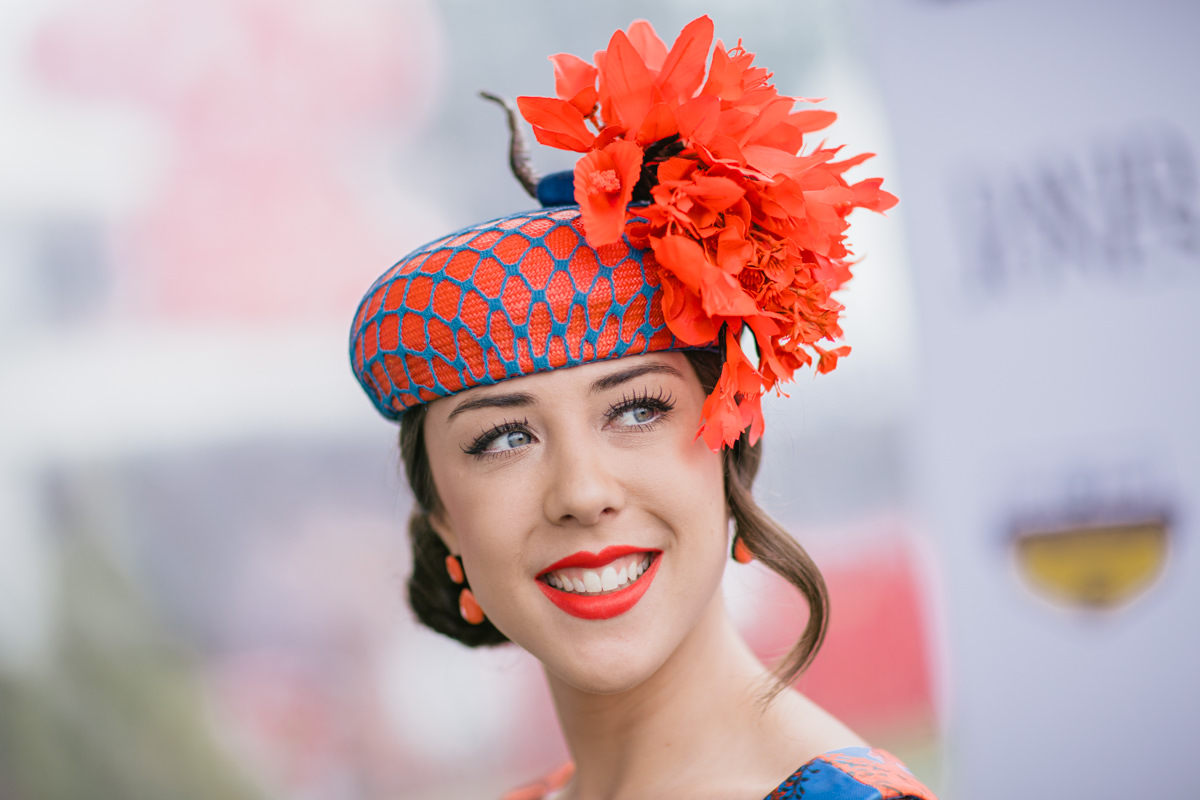 stunning millinery from Melbourne spring racing carnival