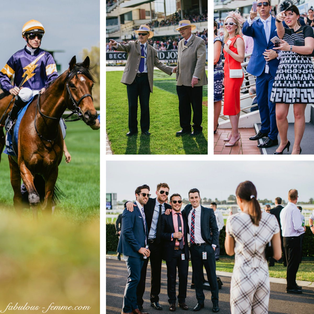 spring racing in style - tips for everyone