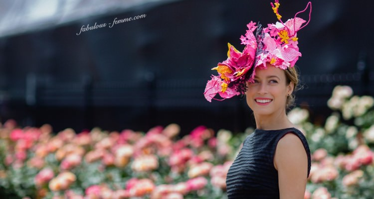 Fashions on the Field 2015 - Winner Emily Hunter