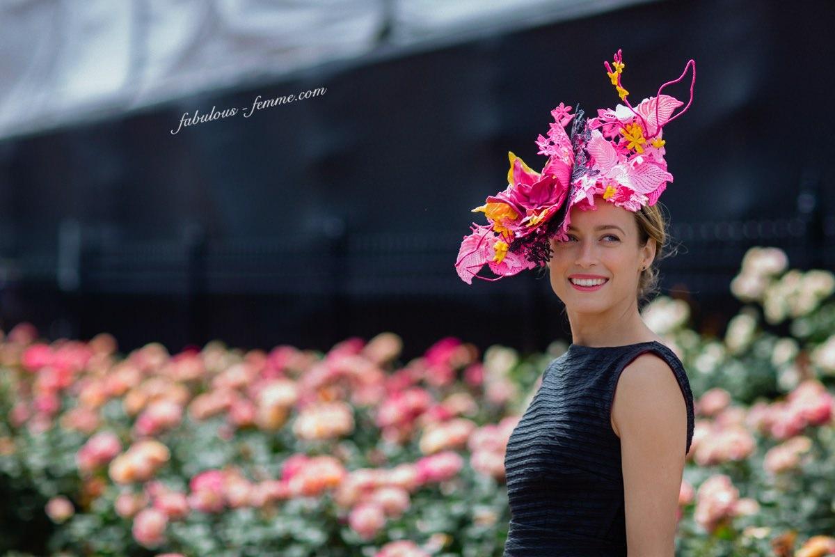 Fashions on the Field 2015 - Winner Emily Hunter