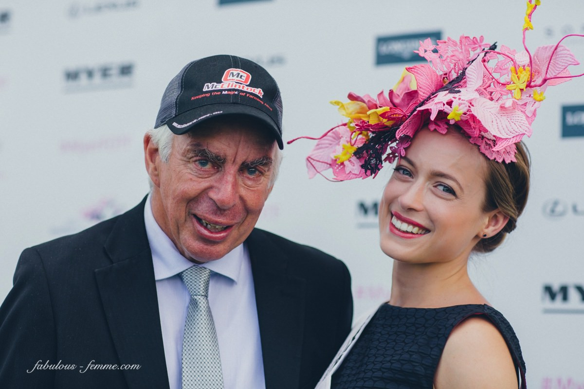2015 Fashions on the Field Winner and her das - Winning the Myer FOTF on Oaks Day 2015 National Final