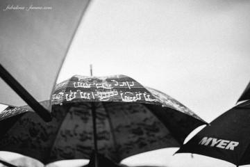 melbourne cup in rain - fashion in the rain