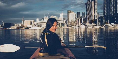 melbourne kayak trip - enjoy life