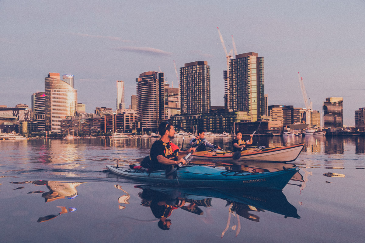 melbourne kayak tour