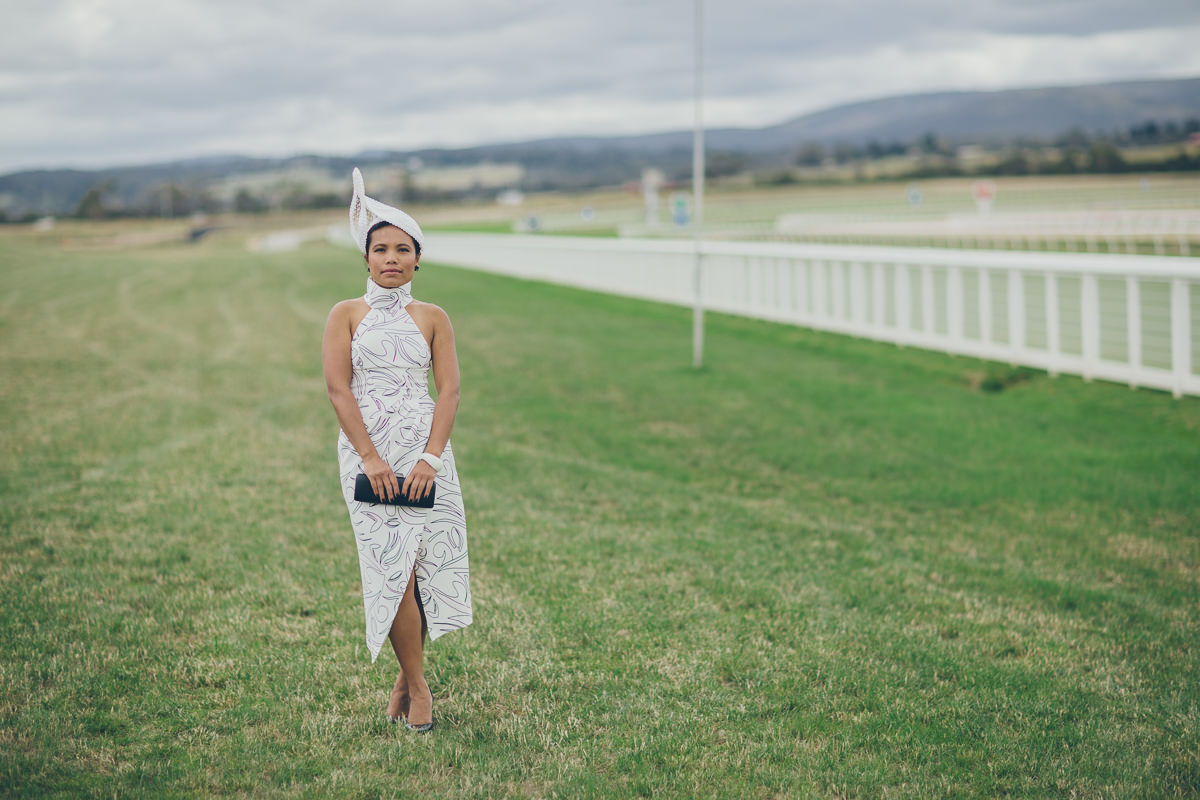 racing outfit - stylish raceway - melbourne cup 2016