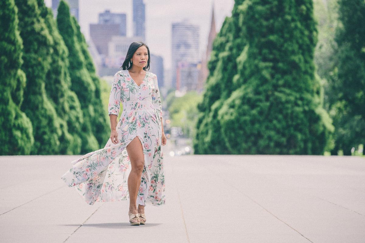 show maxi dress