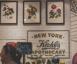 event photography in melbourne - store opening chadstone - kiehls skincare