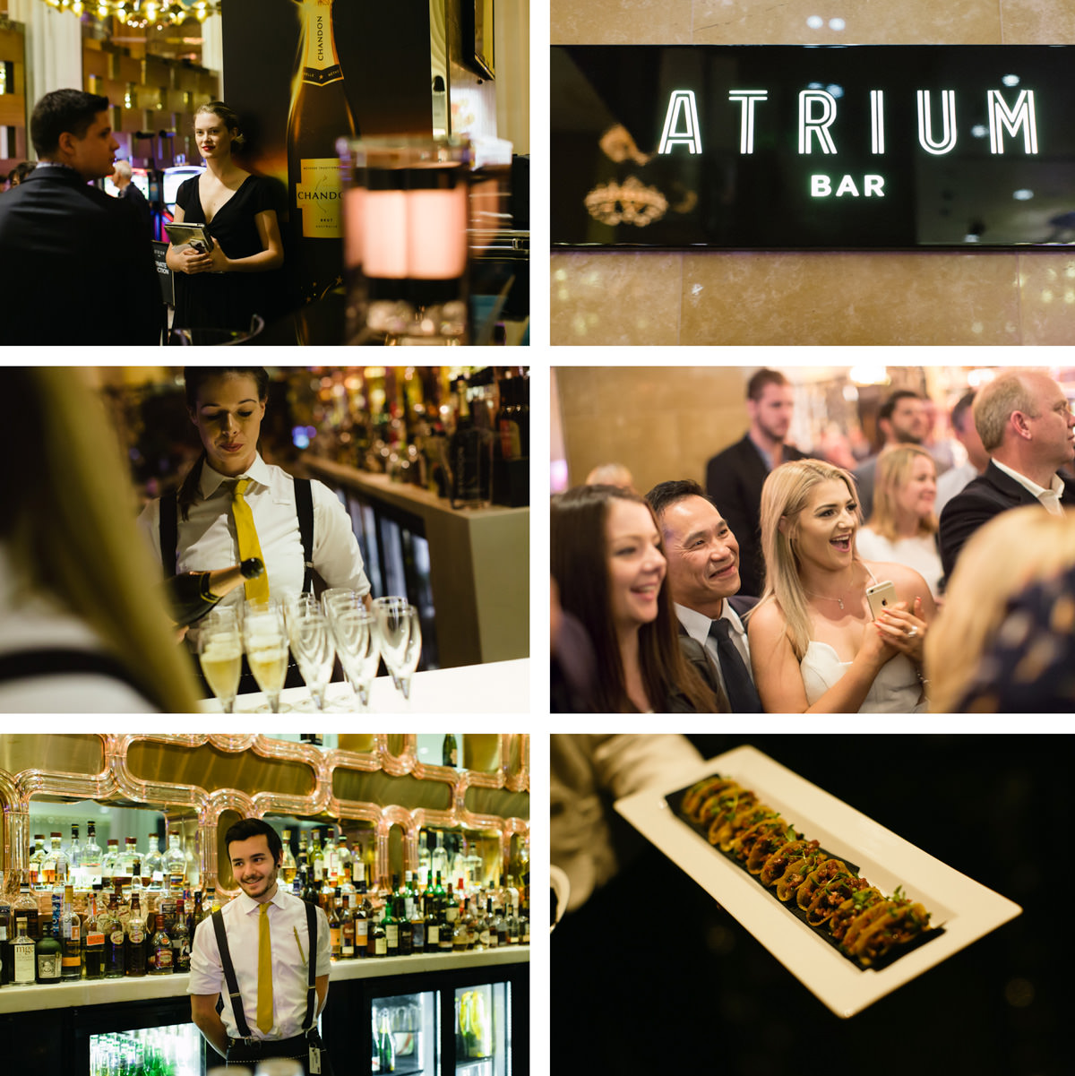 F1 event photography - F1 Party at Crown Asino Artrium Bar with Jenson Button - F1 Driver for McLaren Honda