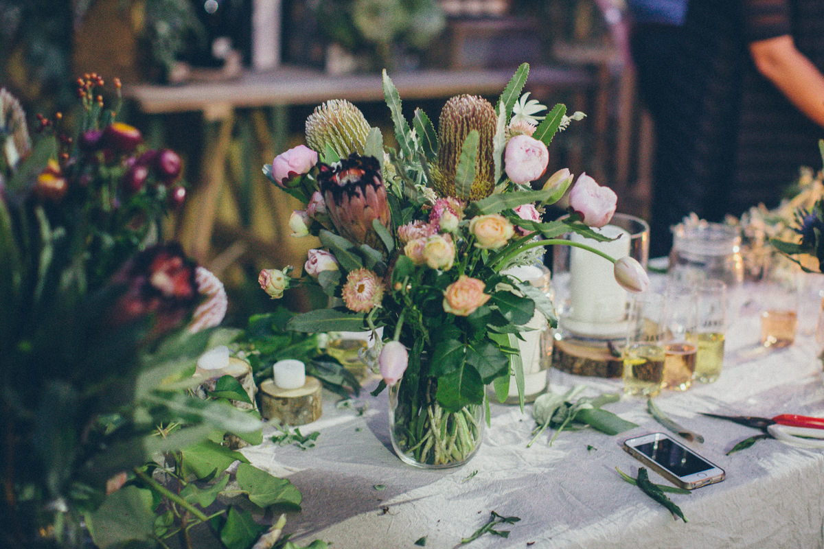 flower arrangements - Melbourne event styling