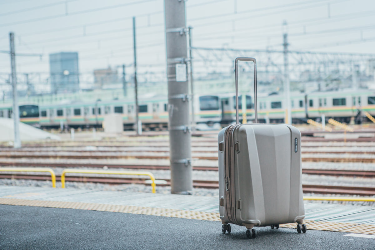 travel light with a medium sized suitcase - travel suitcase