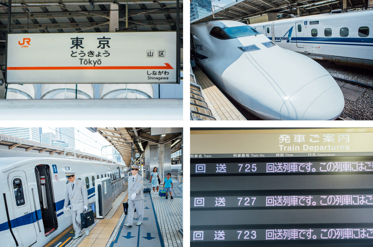 shinkansen train travel in japan - japan rail pass