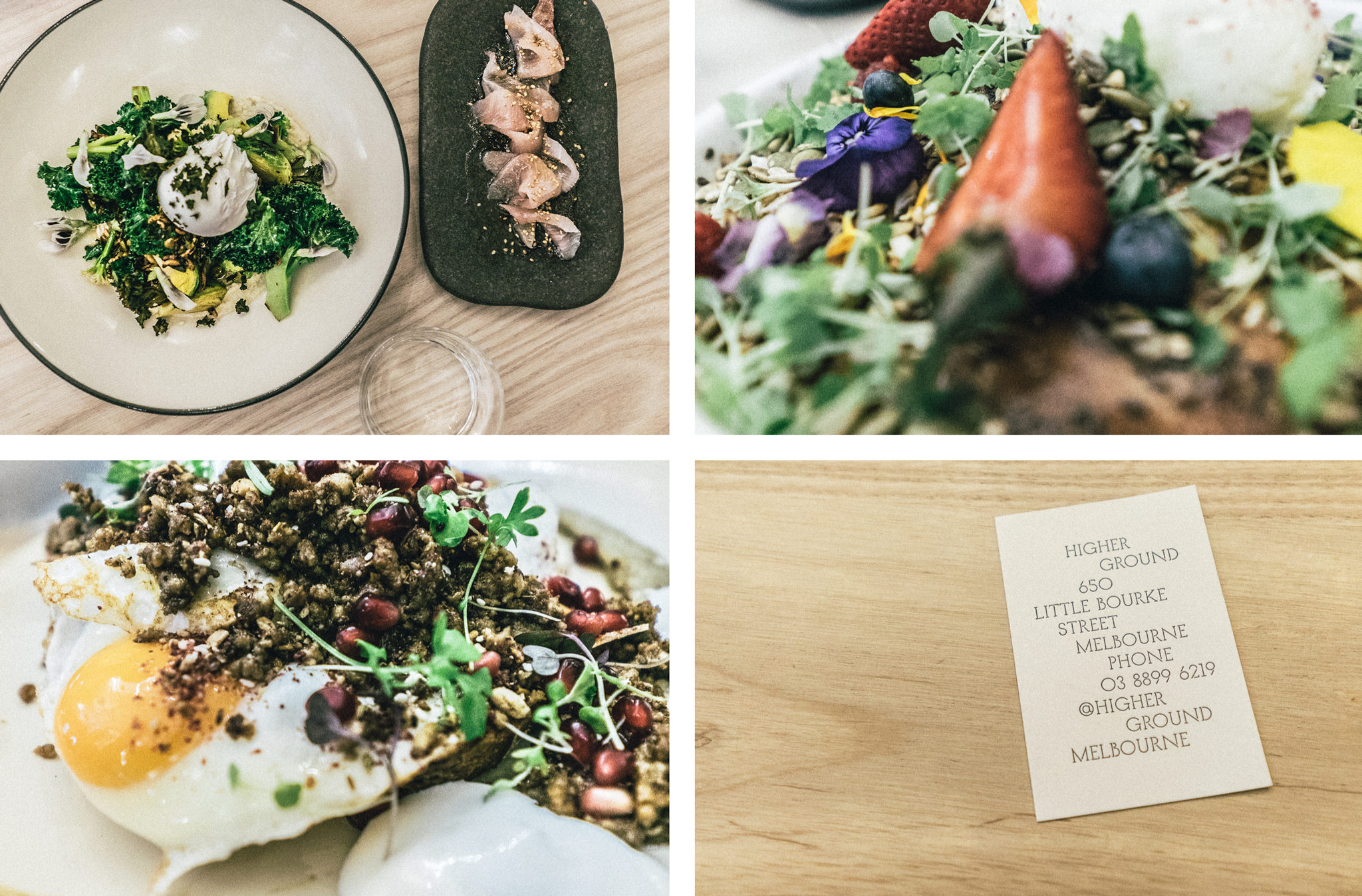 creative brunch dishes in melbourne