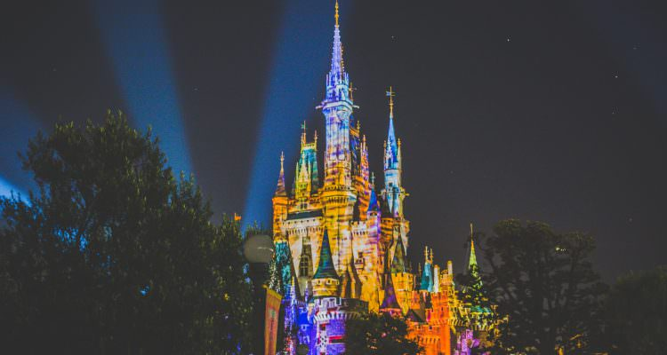 Toky Disneyland Castle by night - Travel photos