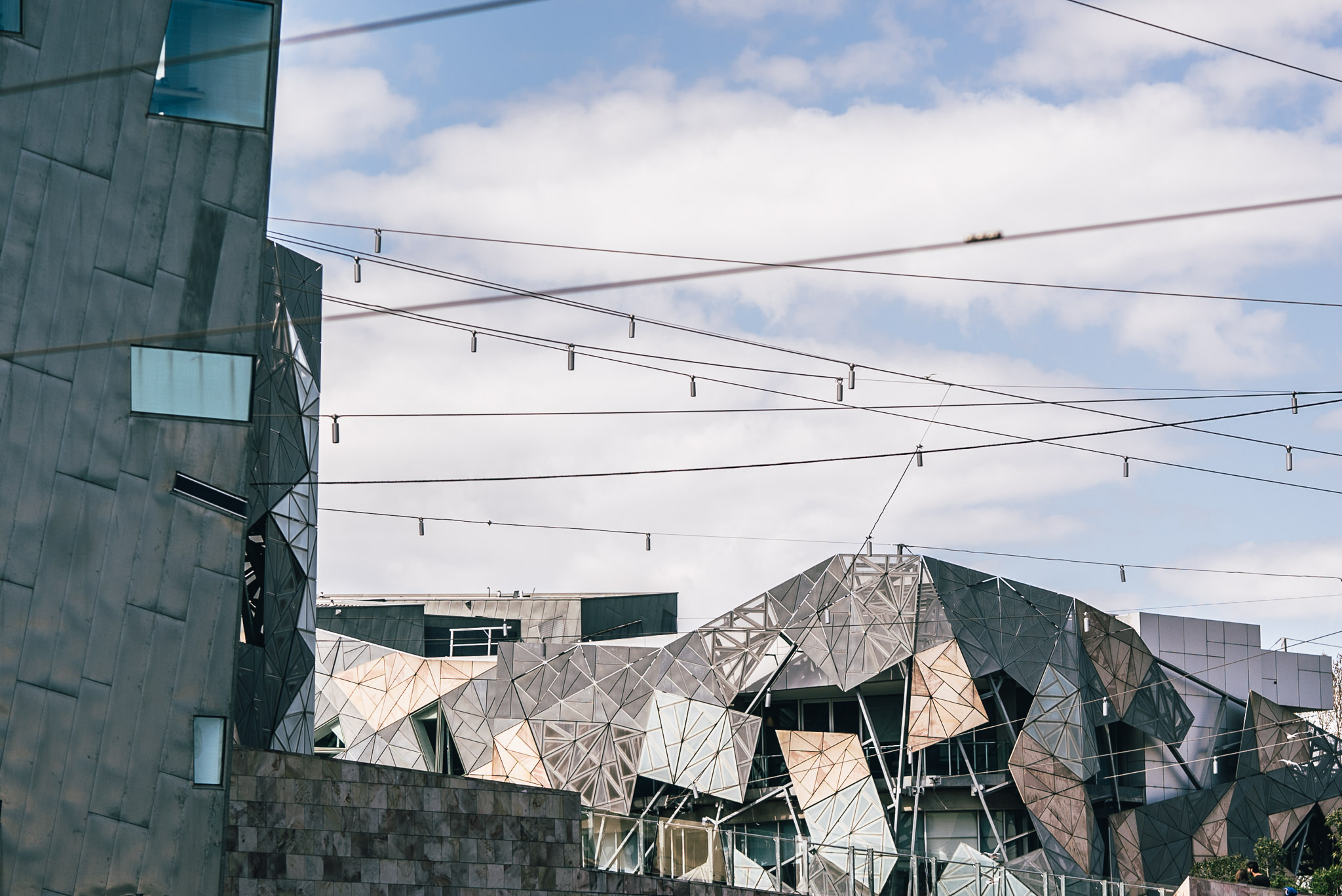 creative federation square photograph - different perspective
