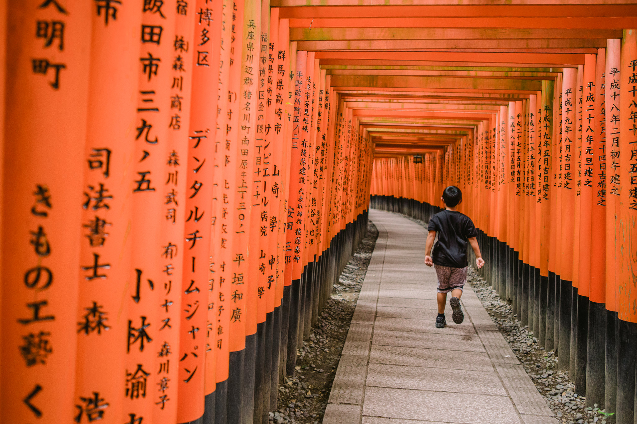 Red Gate Temple in Kyoto - Japan - Fushimi Inari-taishi - Melbourne Travel Blogger and Photographer
