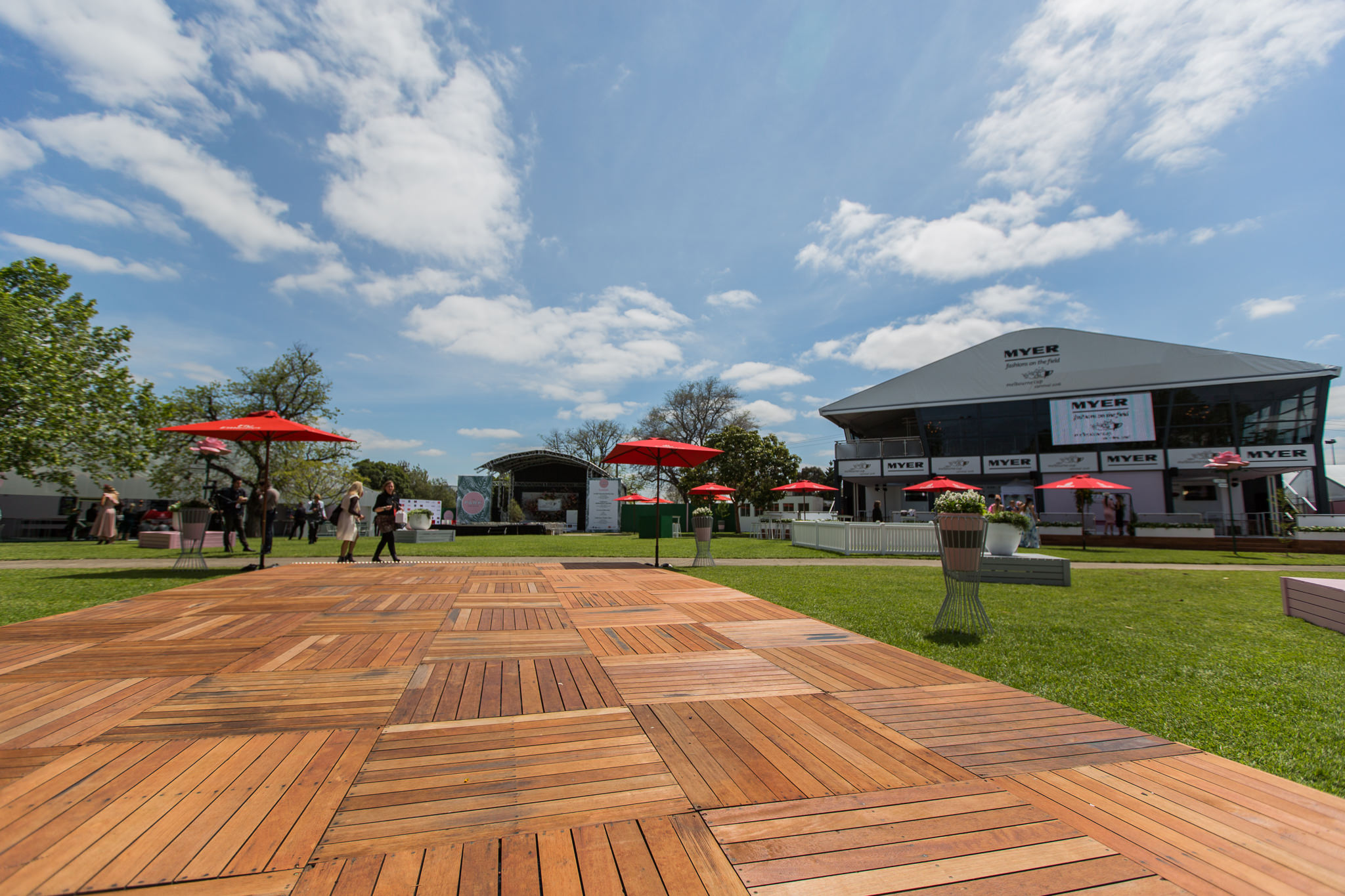 The Park - Flemington General Access Marquees - the best place to be during the Melbourne Cup 2016