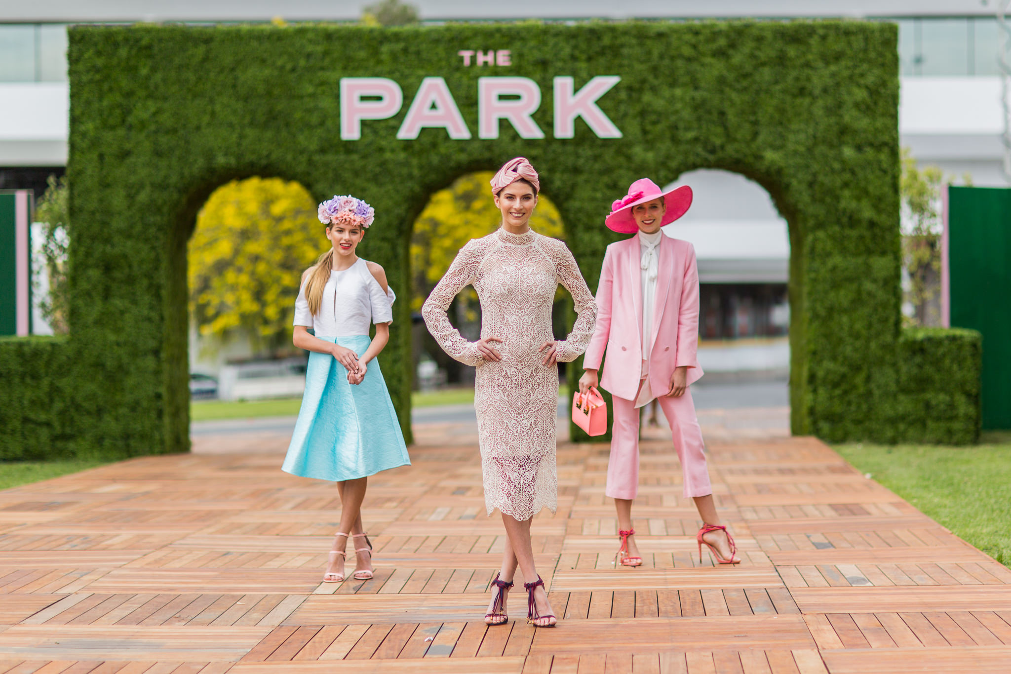 Myer Models at The Park in Flemington at the official Spring Carnival Launch 2016 for the Melbourne Cup - best photos