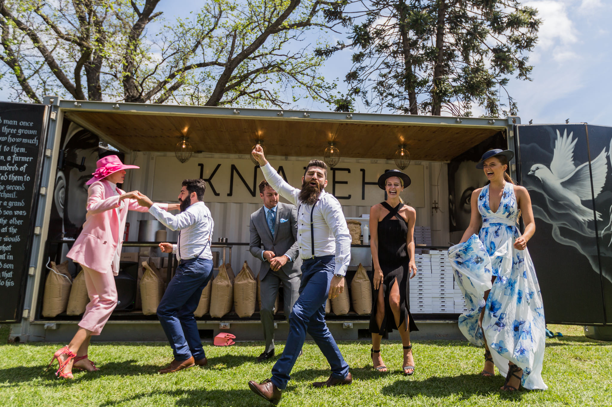 fun with the bearded bakers at the melbourne cup