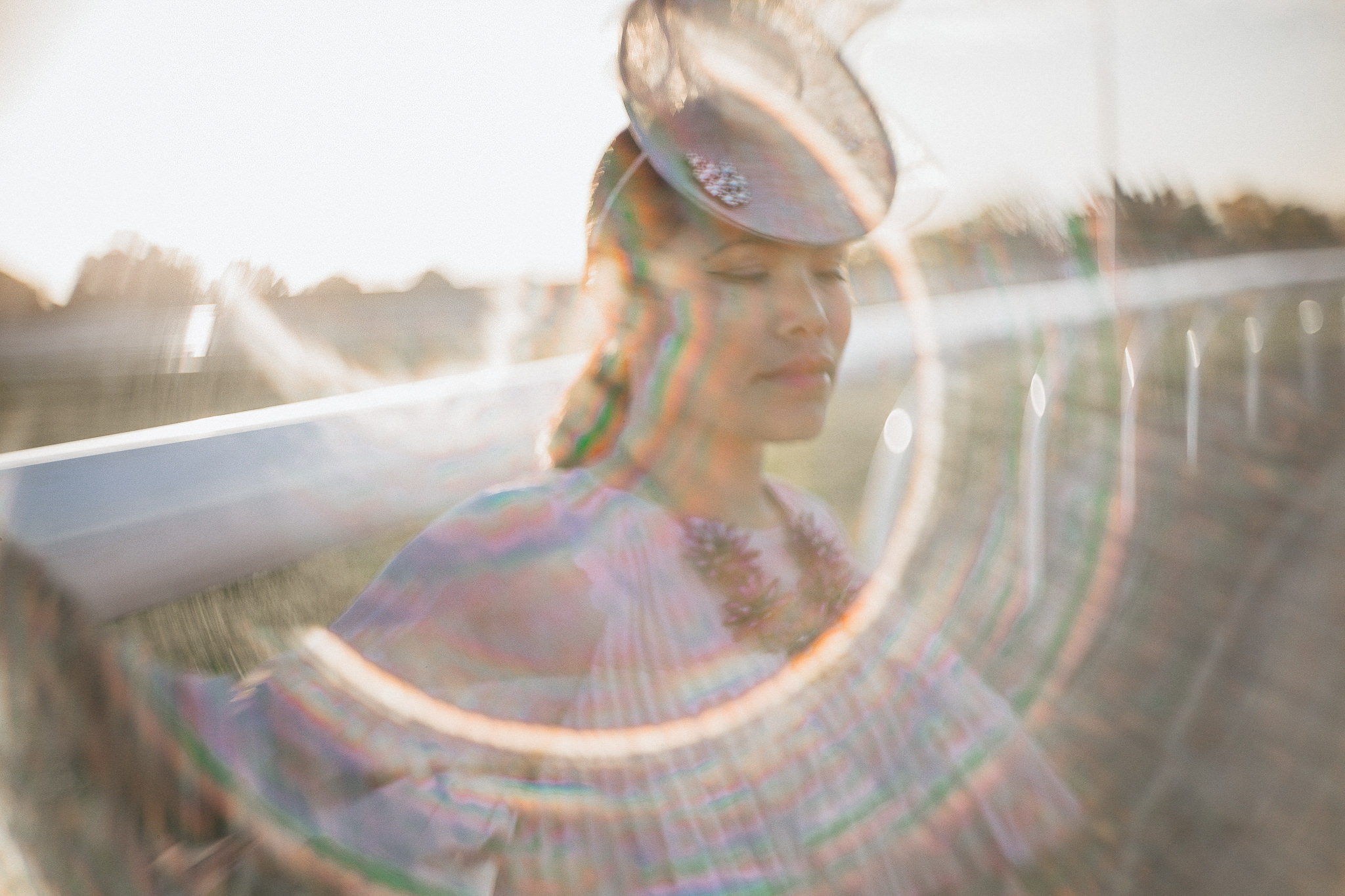 spring racing - lens flare