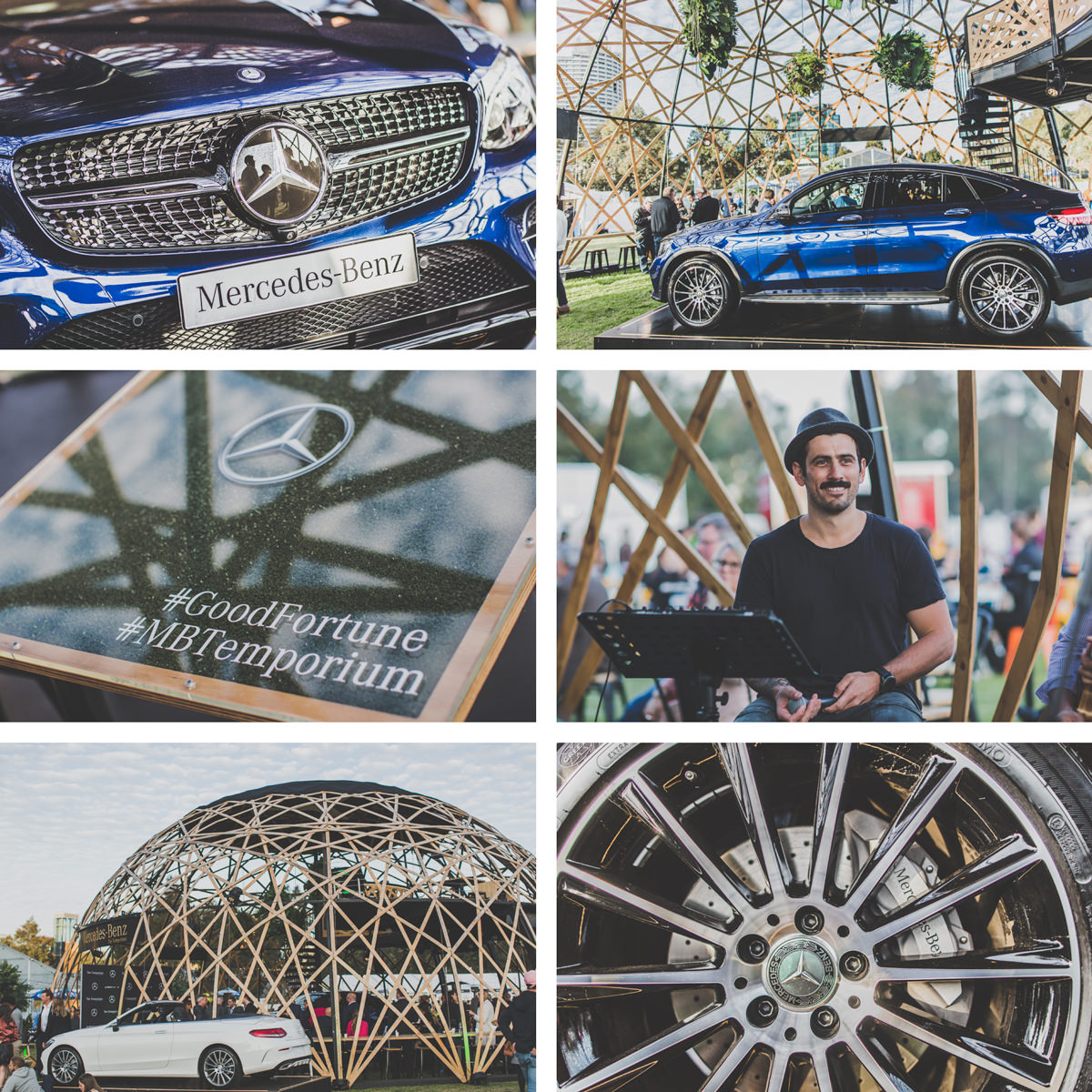 mercedes benz car showcase photography in melbourne