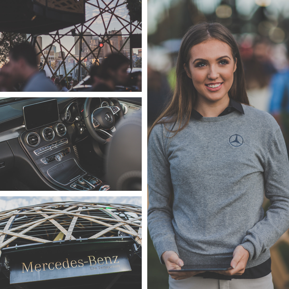 mercedes benz event photography - stylish events in melbourne - best photographer for melbourne events