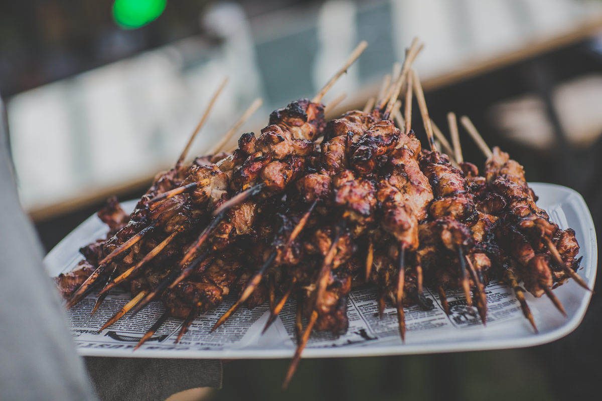 skewers - food photography