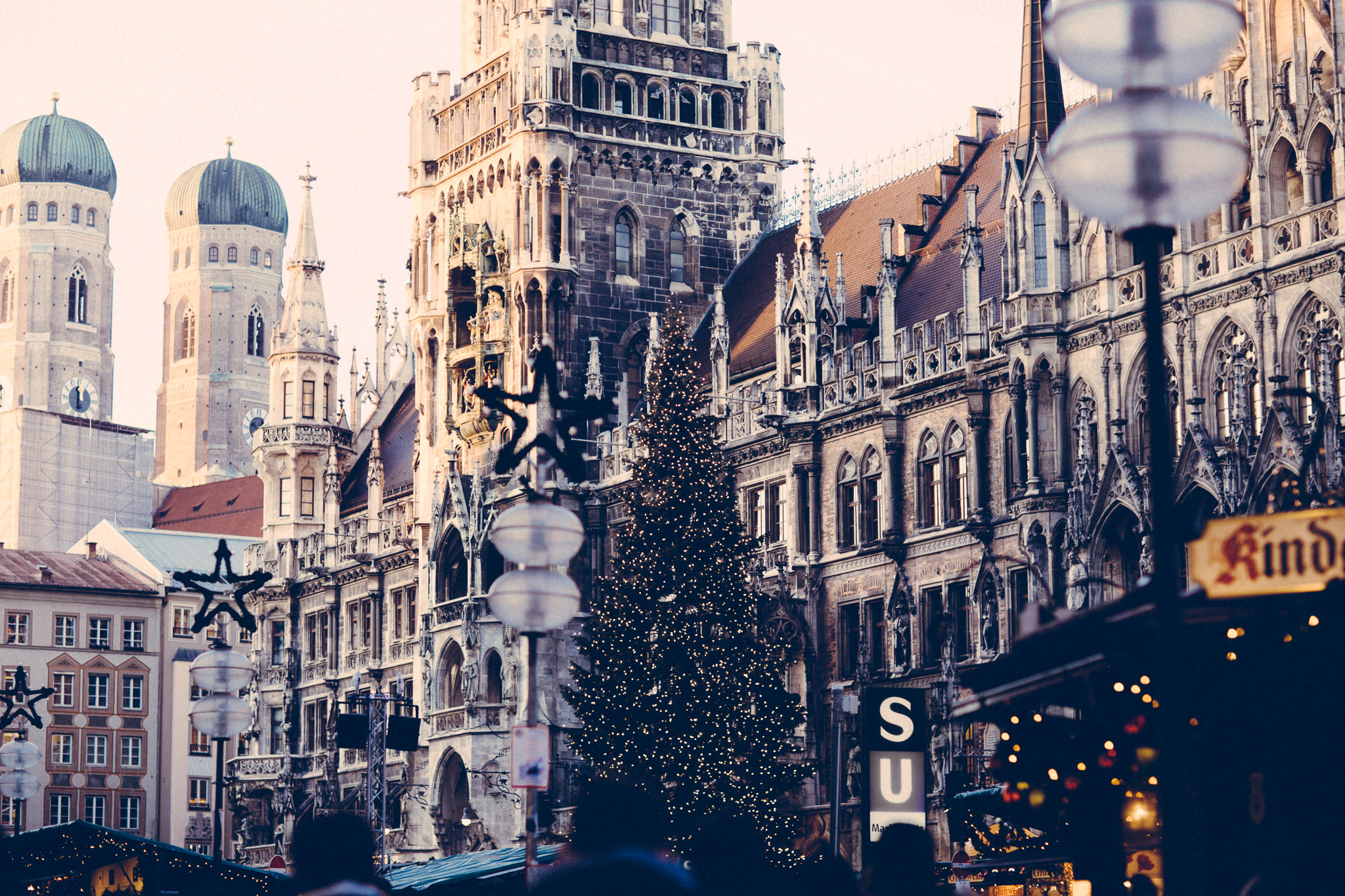 christmas markets in munich, germany - travel photos