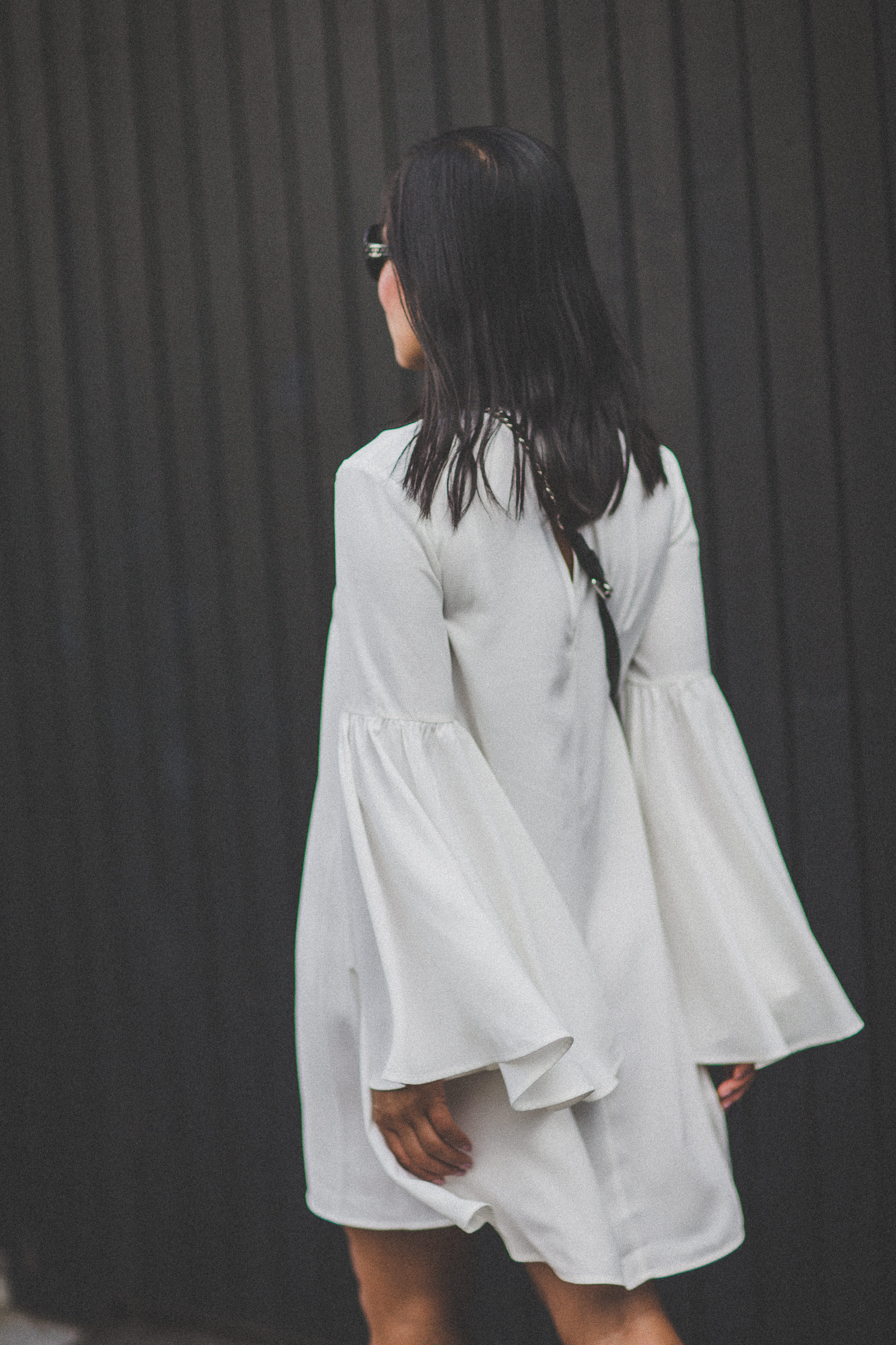 luxury fashion - sleeve dress