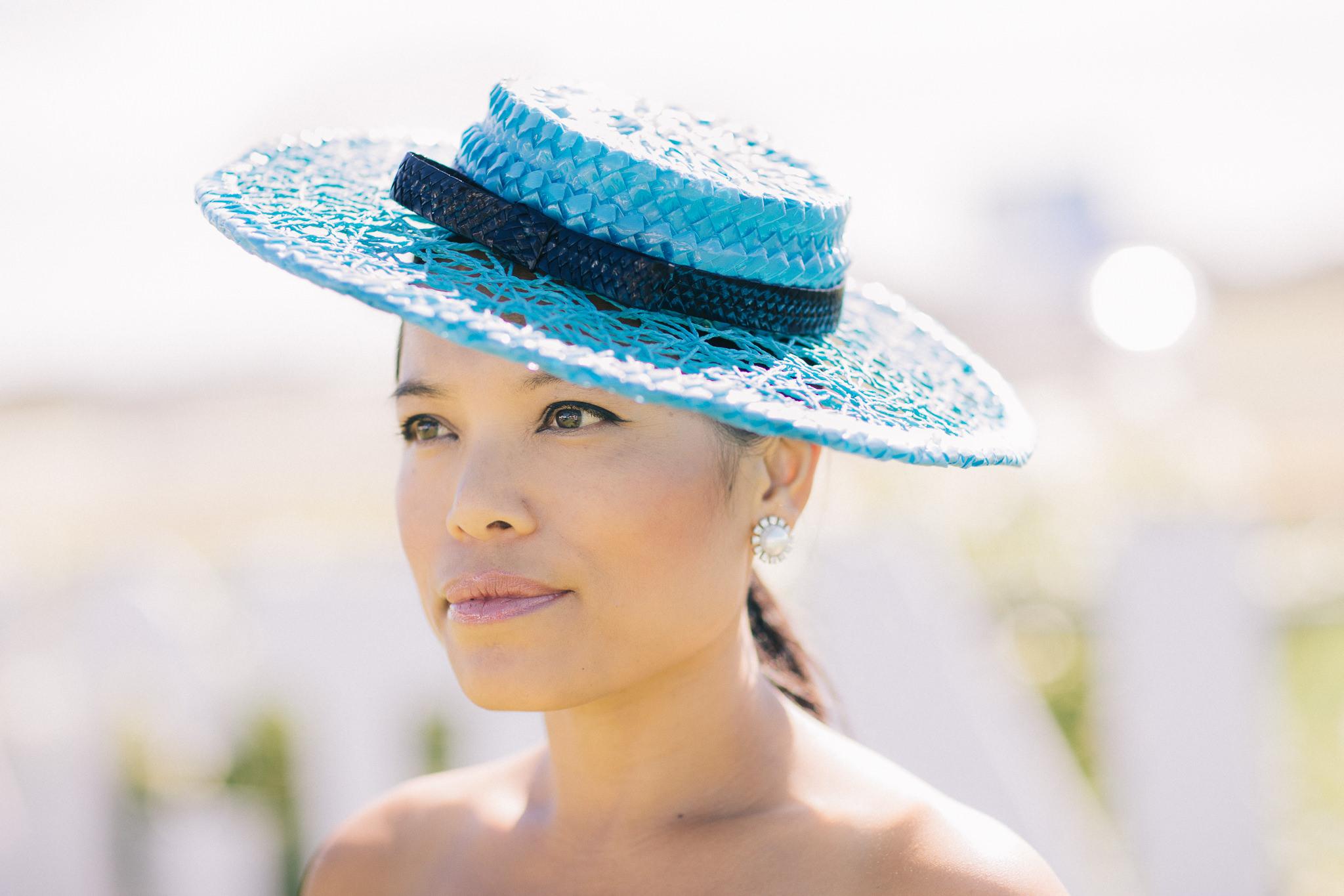 summer hat for the races