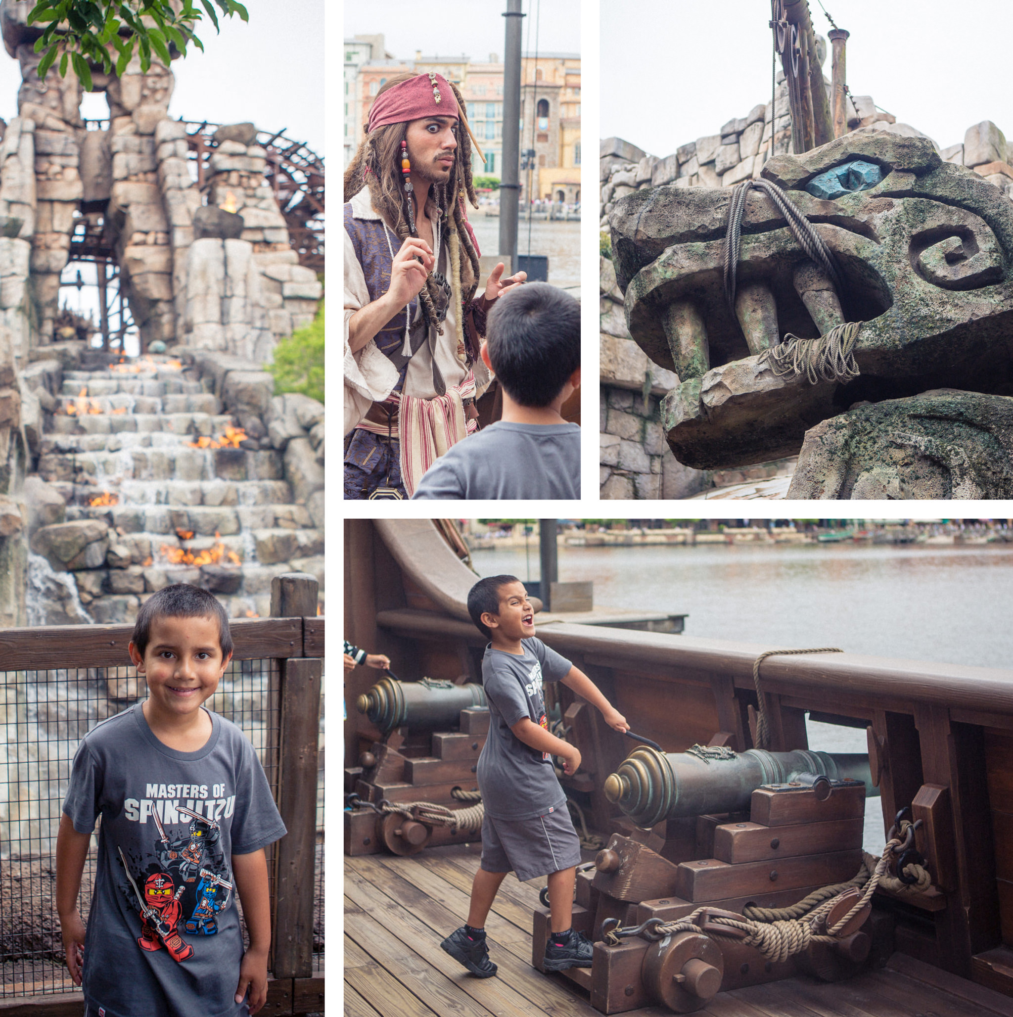 pirates or the caribbean at disney sea