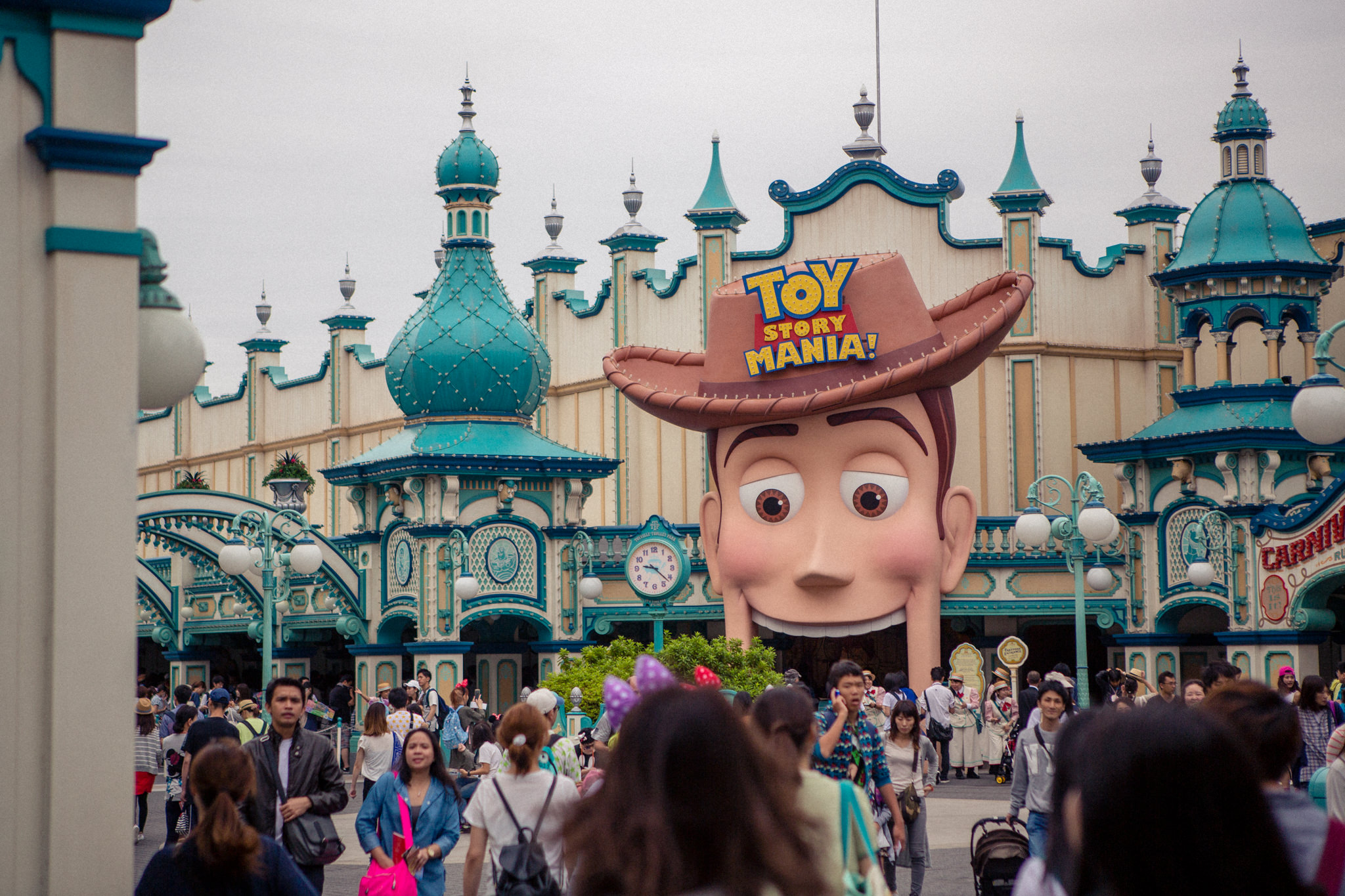 toy story - disney sea