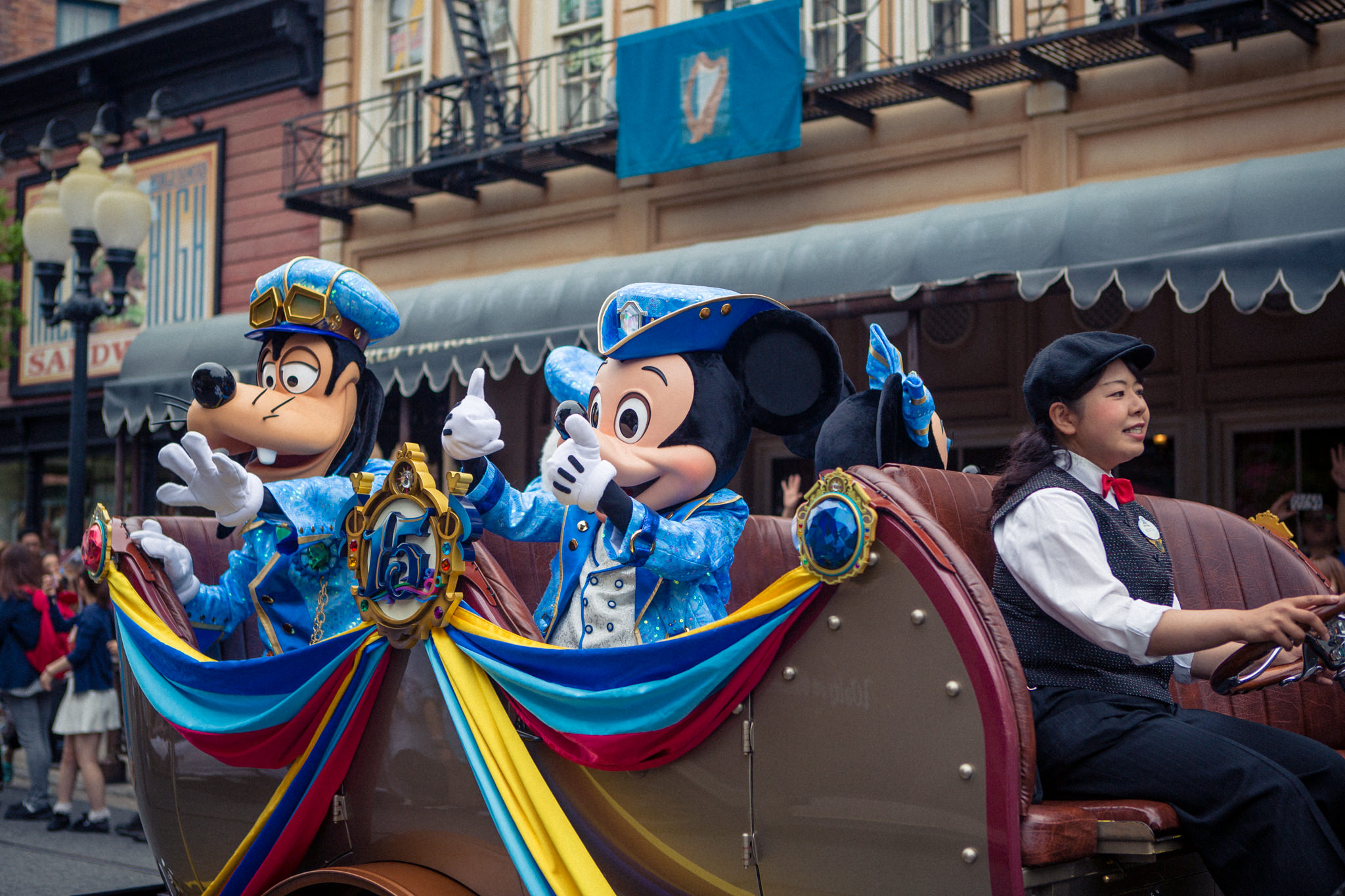mickey mouse parade