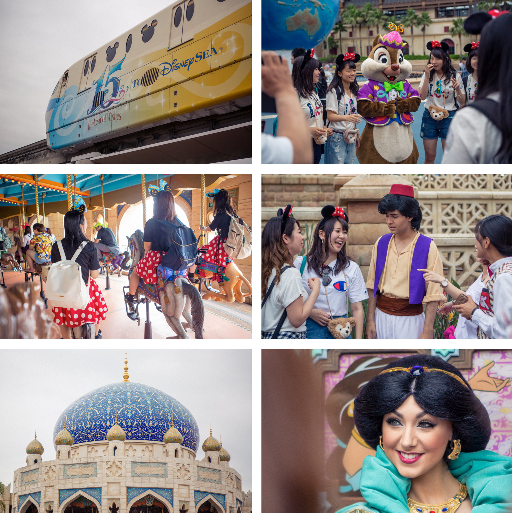 impressions of disney sea
