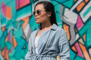 fashion blogger exploring melbourne