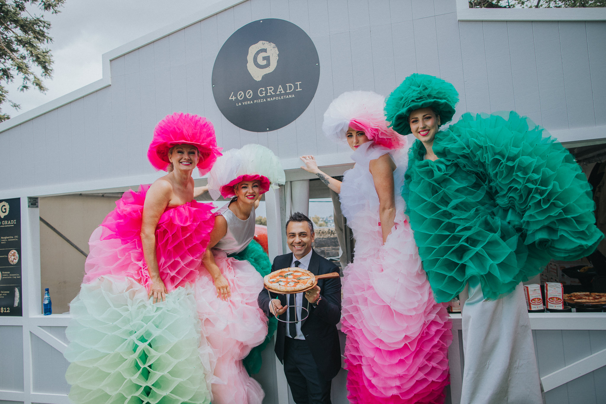 400 Gradi at the Melbourne Cup 2017