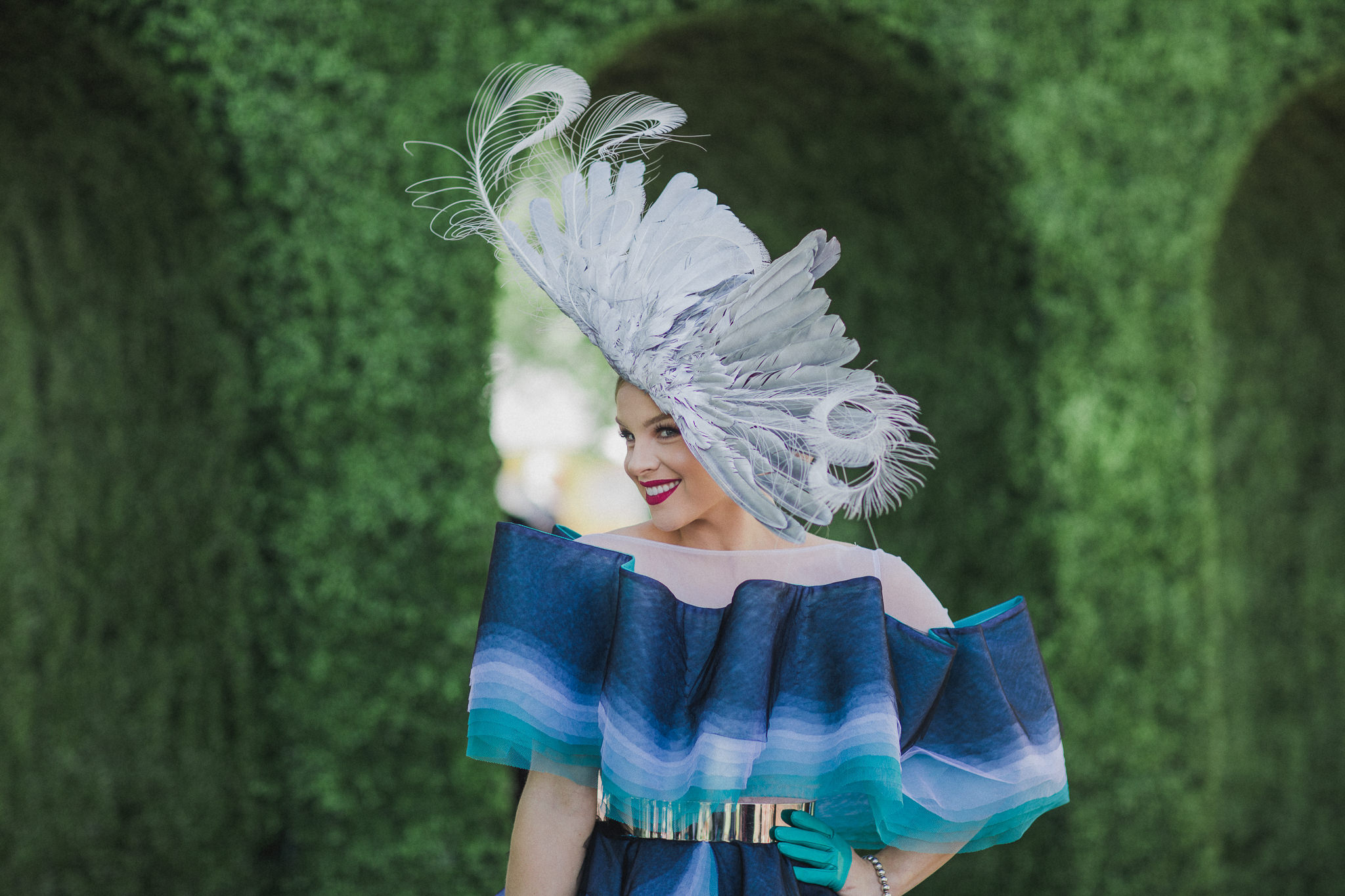oaks day millinery winner fashions on the field 2017 Spring Racing Carnival