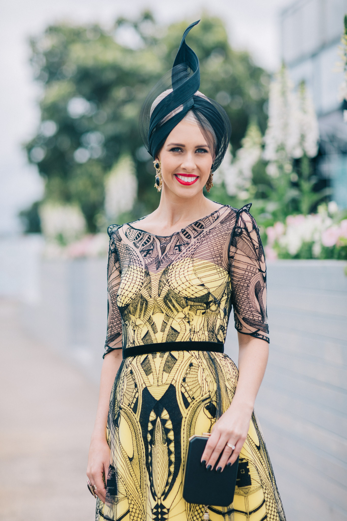 Fashions on the Field Winner Queensland: Stacie Galeano