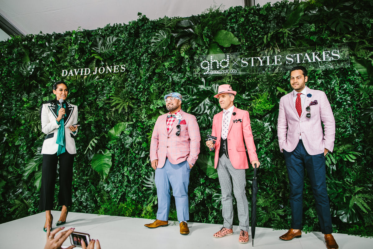 Men's fashion at Caulfield - Style any the  Races