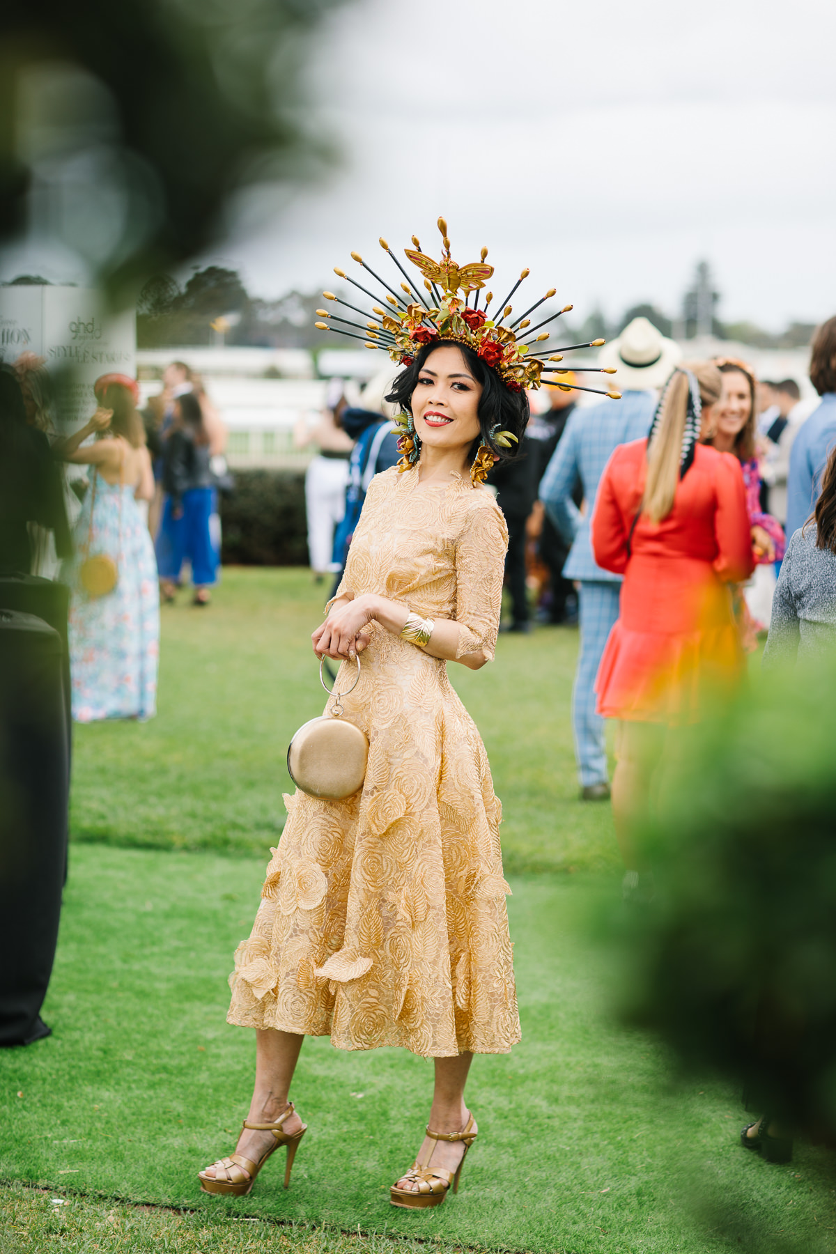 millinery at the races