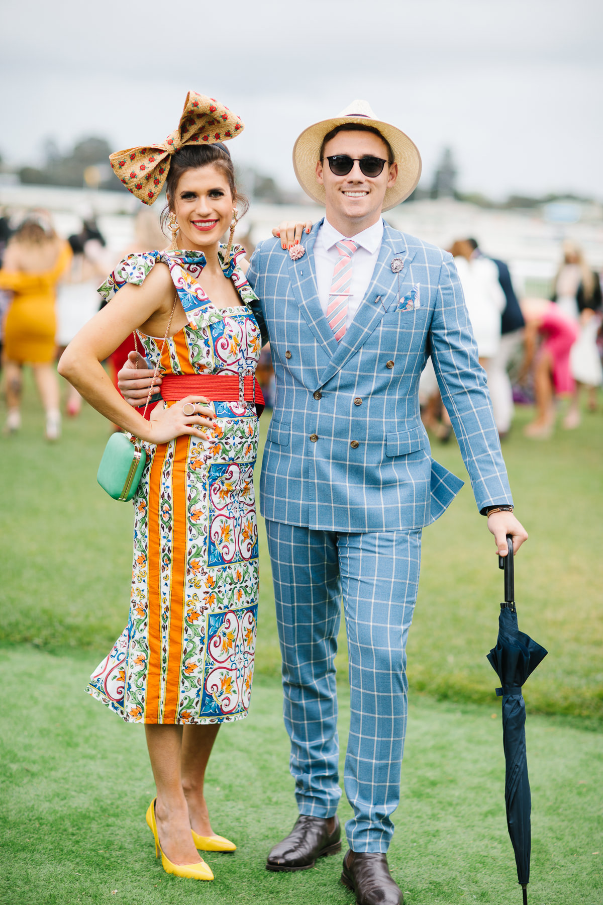 Couples Fashion (Squad) Winner at the Fashions on the Field Competition at Caulfield Cup