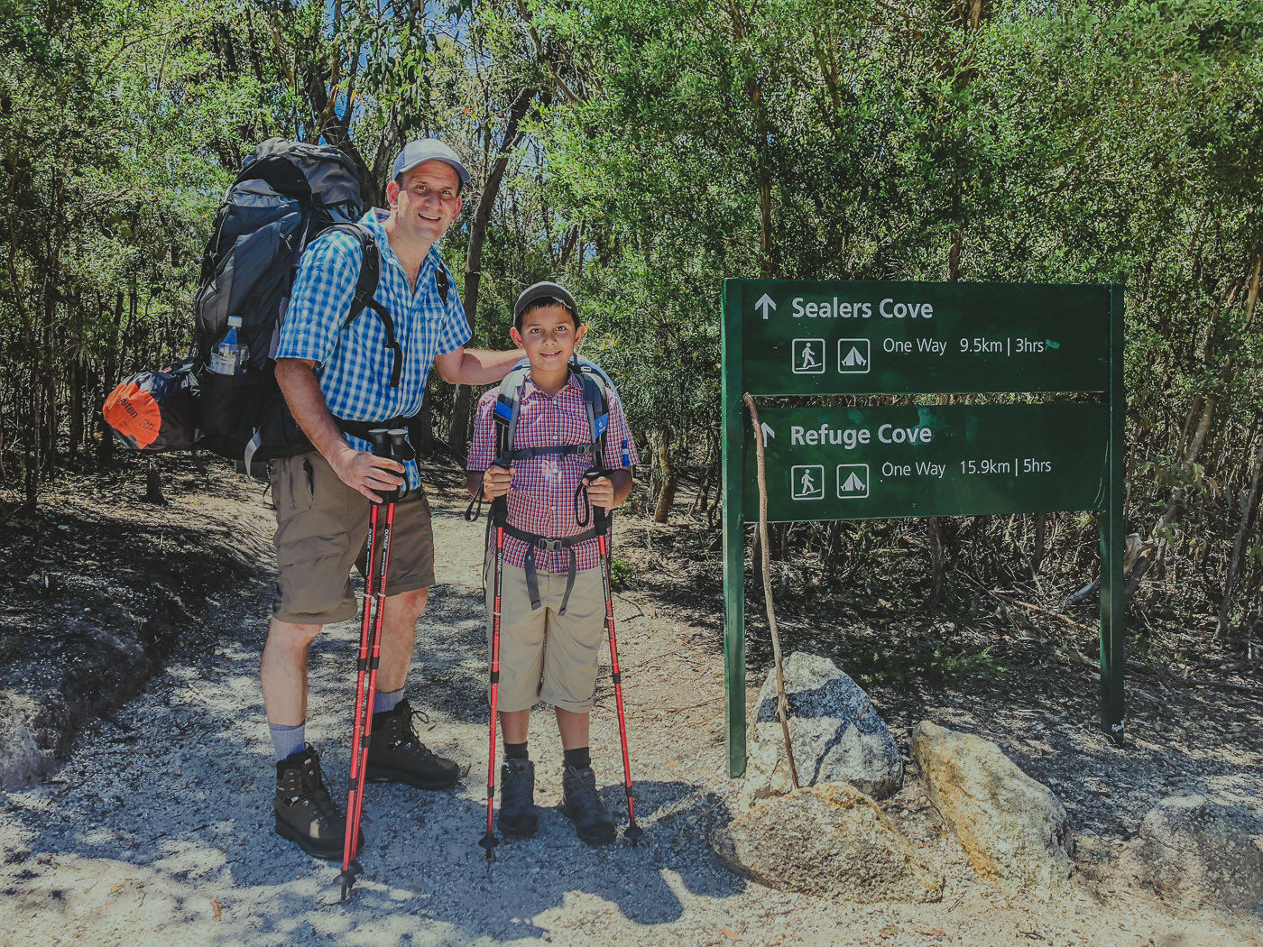 Start of the hike to Sealers Cove in Wilsons Prom National Park - Adventures near Melbourne